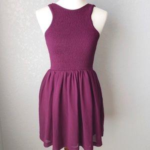Kimchi Blue   Purple Halter Dress